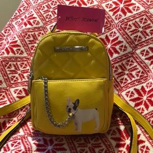 Betsey Johnson Kitsch Backpack/Purse